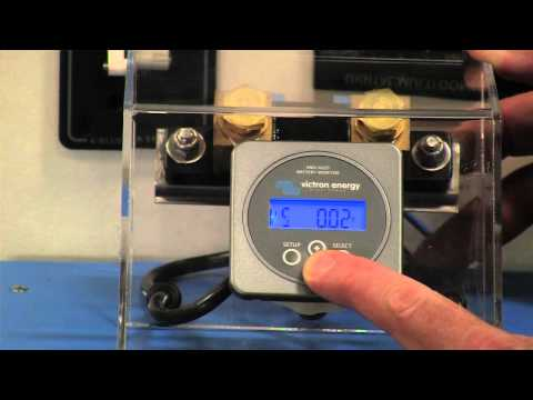 Victron Battery Monitor Product Demo