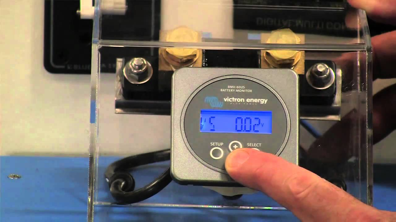 Victron Battery Monitor Product Demo Youtube
