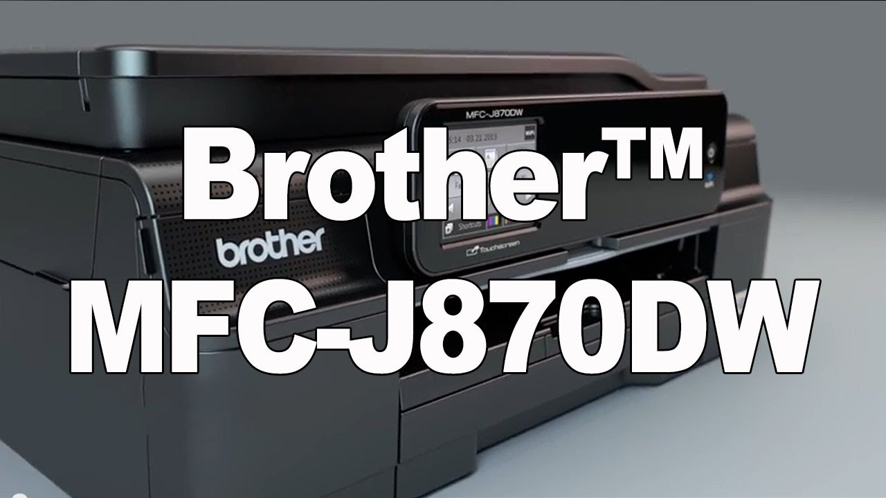 BROTHER MFC 870DW TELECHARGER PILOTE