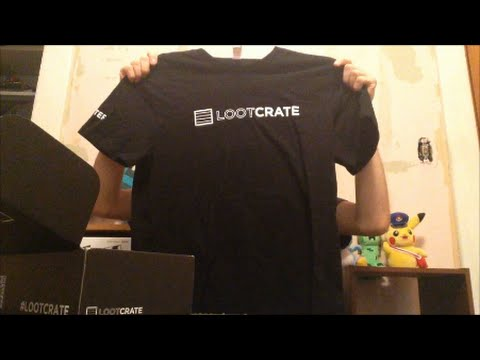 Loot Crate Unboxing - Bonus Gift - YouTube