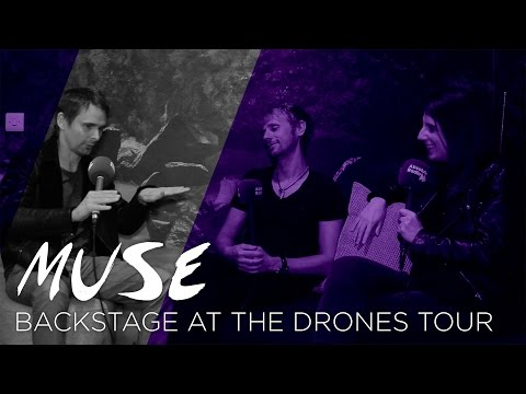 Interview with Matt & Dom | Backstage at the Muse Drones Tour