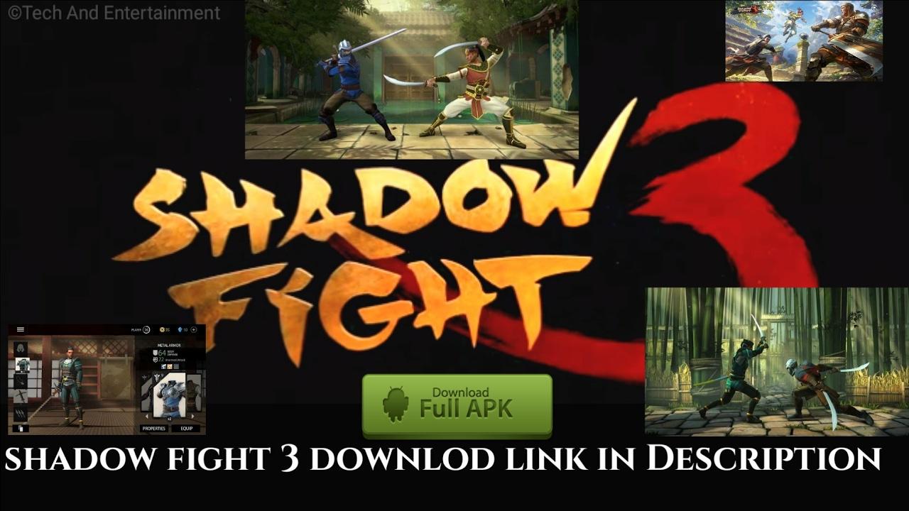 shadow fight 3 mod money