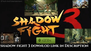 Shadow Fight 3 APK+DATA SHADOW FIGHT 3 APK MOD ANDROID DATA FILES UNLIMITED MONEY | Free To Download