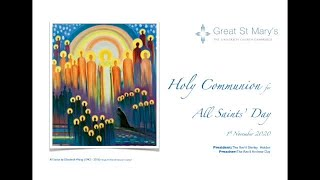 Online Holy Communion for All Saints' Sunday