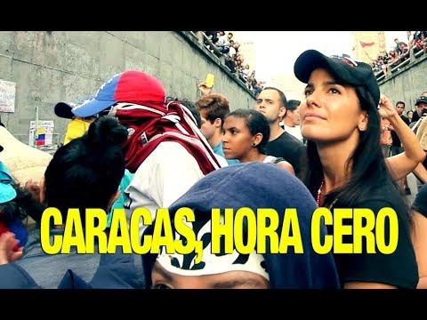 Caracas en la Hora Cero. Selfiementary #29. Protestas en Venezuela.