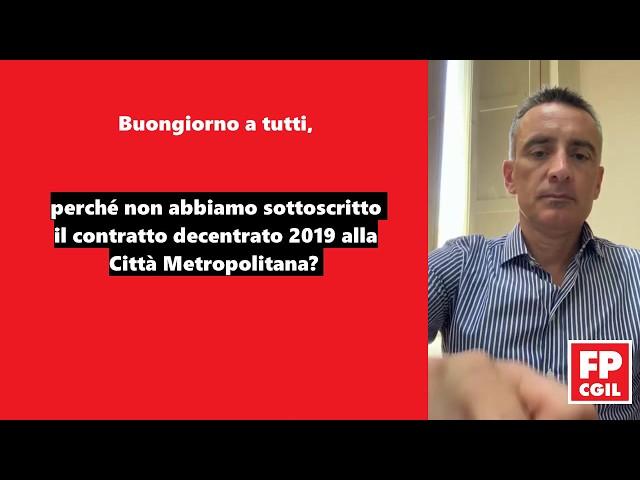 Contratto Decentrato Messina - Perché non è stato sottoscritto dalla FP CGIL Messina