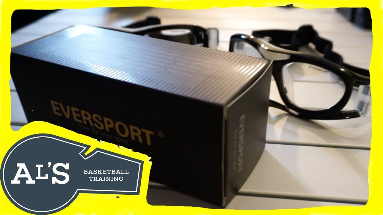 80b70de7855 EVERSPORT Protective Sports Goggles Safety Basketball Glasses Eyewear  Unboxing and Review