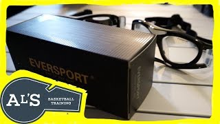 EVERSPORT Protective Sports Goggles Safety Basketball Glasses Eyewear Unboxing and Review