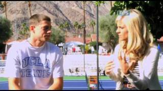 Samantha Steele Exclusive Interview with UCLA tennis star Amit Inbar