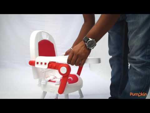 Little Pumpkin's- Kiddie Kingdom 3 in 1 Fold-able High Chair Installation Video