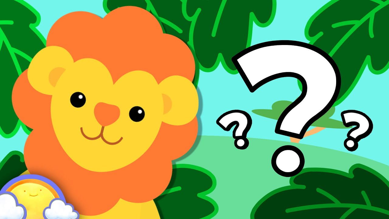 Zoo Animals Game Guessing Game For Kids Cheeritoons