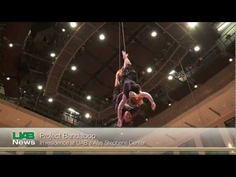 Project Bandaloop In Residence At UAB's Alys Stephens Center
