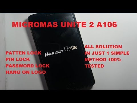 Micromax Unite 2 Stuck At Logo