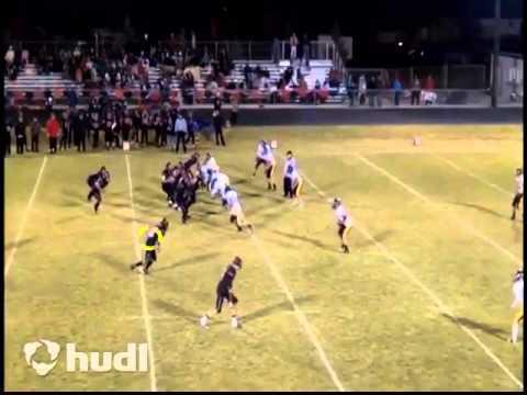Landon Hayes Football Highlights Soda Springs High School