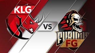 KLG vs FG - CLS Apertura 2018 S6D2P4