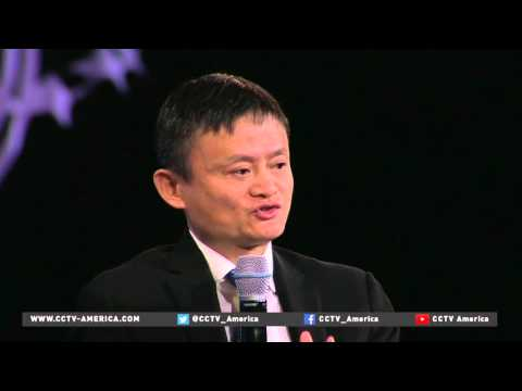 Alibaba founder on the impact of technology