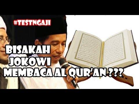 Test Ngaji Aceh, Bisakah Jokowi Membaca Al Qur'an ????