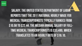 How Much Can You Make As A Medical Transcriptionist?