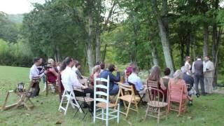Riverside Wedding in Banner Elk September, 2016