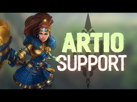 ARTIO RANKED SUPPORT: MAULING WITH MY BEAR HANDS - Incon - Smite