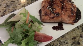 How To Pan Seared Salmon Teriyaki