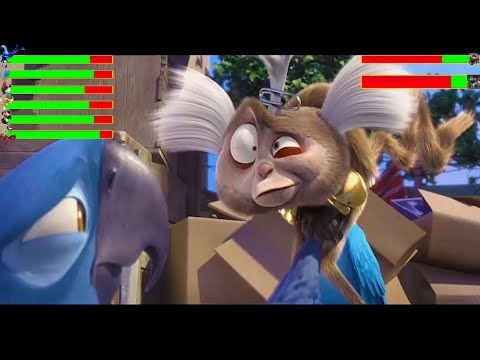 Rio (2011) Final Battle ... With Healthbars (HD)