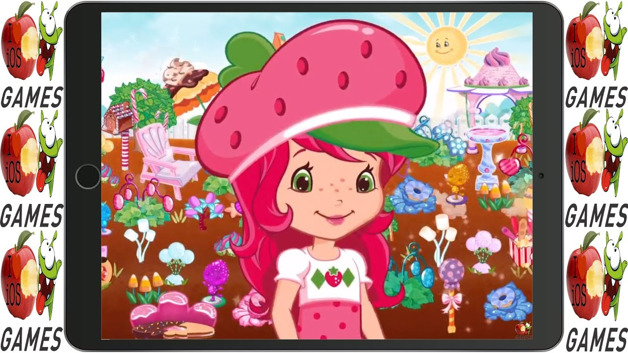Strawberry Shortcake Candy Garden Game For Kids Kids Game To
