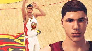 NBA 2K MyCAREER LaMelo Ball #1 - NBA DRAFT & China Debut | Green Release From The  Logo