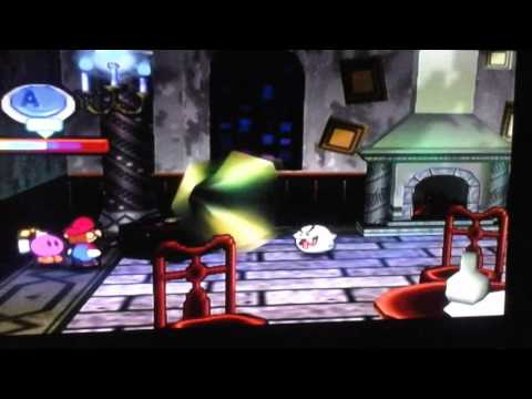Paper Mario: Radical Dance Moves for a Ghost.