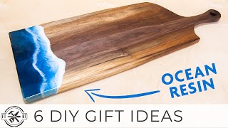 6 DIY Gifts Made from Wood | Easy Woodworking Projects