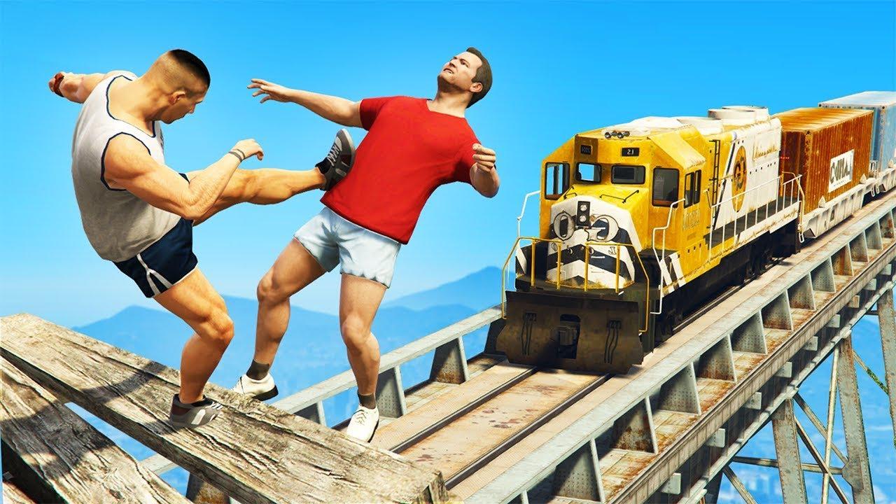 GTA 5 FAILS - #35 (GTA 5 Funny Moments Compilation + 1M Subscribers Special!)
