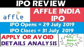 Affle India IPO | Detail Analysis | Apply or Avoid | Affle India IPO Review
