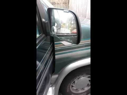 1994 Ford E150,250,350 Econoline Van power mirror replacement