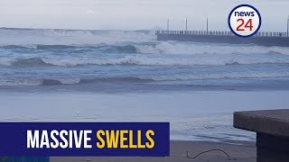 WATCH: Waves on Durban North beach that claimed life of 7-year-old
