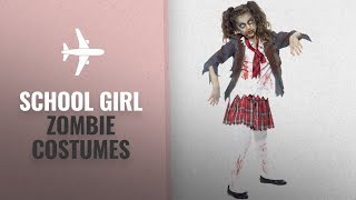 School Girl Zombie Halloween Costumes: Smiffys Children