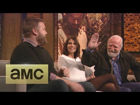 Robert Kirkman, Lauren Cohan, and Scott Wilson on Hershel ...