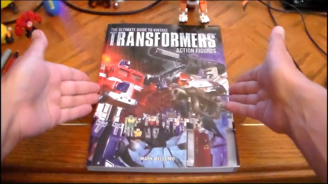 Transformers: The Ultimate Guide by Simon Furman - YouTube
