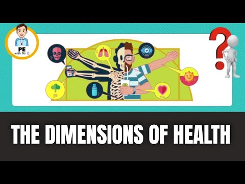 Learn the 5 Dimensions of Health   PE Buddy
