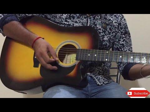 Mera Pyar Tera Pyar   Arijit Singh   Guitar Lesson   Guitar Cover