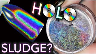 Holographic Sludge for Nails?! - Experiment Time