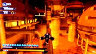Sonic Unleashed - Eggman Land (Night-2) Glitch: Map Loading Error (PS3)