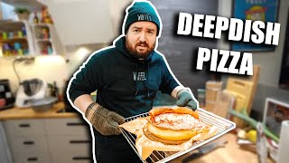 Ich mach ne DEEPDISH PIZZA (ich werds nie lernen..)