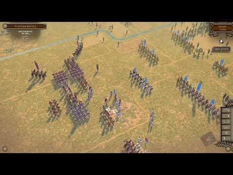 Field of Glory II Gameplay