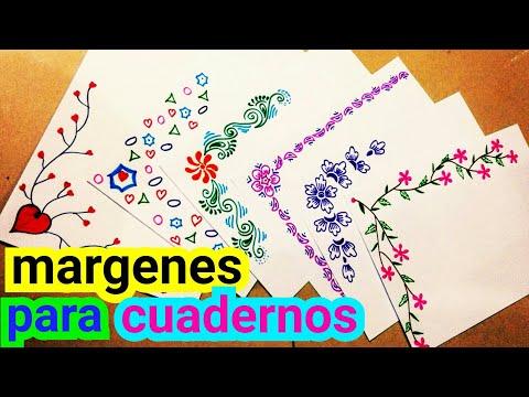margenes para cuadernos | margenes | marcos para cuadernos | margenes bonitos | como hacer margenes
