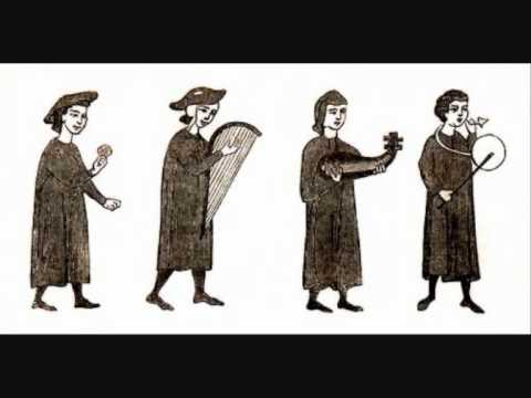 TROUBADOURS - trovadores occitanos - Clemencic Consort.avi