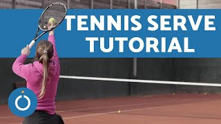 How to SERVE in Tennis - 3 Shots