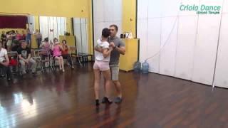 Criola Dance. Кизомба - урок
