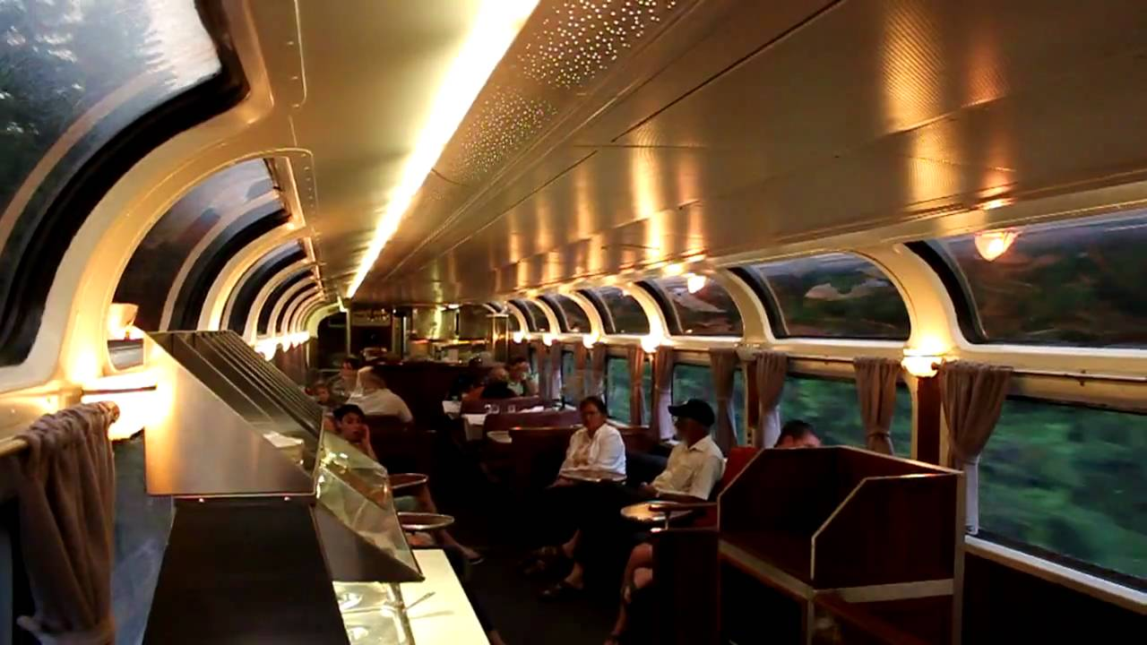 A Ride In The Pacific Parlor Car Youtube
