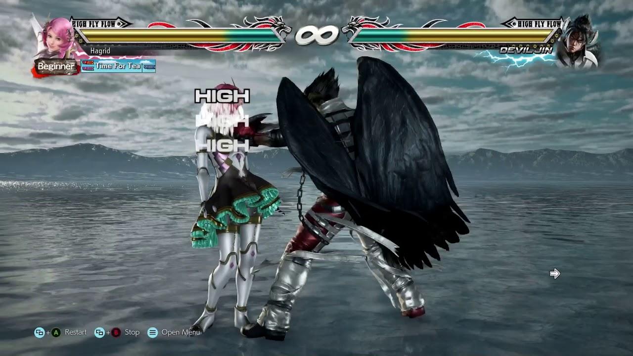 Tekken 7 - Sidestep Comparison (Lili & Zafina)