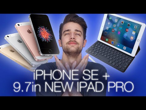 iPhone SE, 9.7 inch iPad Pro, more Apple news + VR on old hardware?
